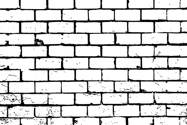 wiring in brick wall
