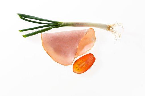 Ham, Tomato, Leek, Breakfast, Kitchen
