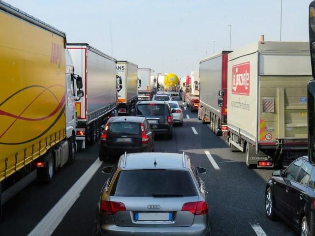 Doprava, Preťaženie, Freeway, Auto, Koľajové Vozidlá