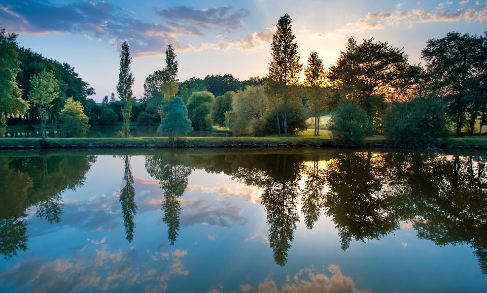 Beautiful Girl Wallpaper Hd Download Sunset Colorful Reflection 183 Free Photo On Pixabay