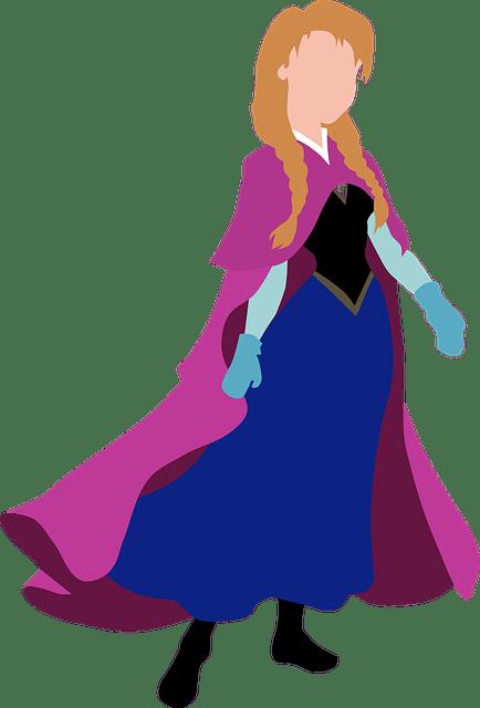 Anna Disney Princess Walt  Free vector graphic on Pixabay