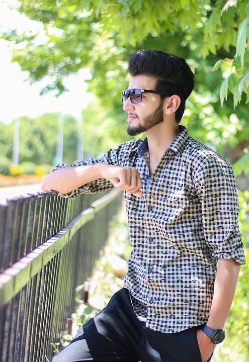 stylish boy fashion man