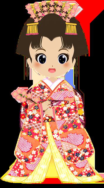 Boy And Girl Doll Wallpaper Hd Kimono Cherry Blossoms Girls 183 Free Image On Pixabay