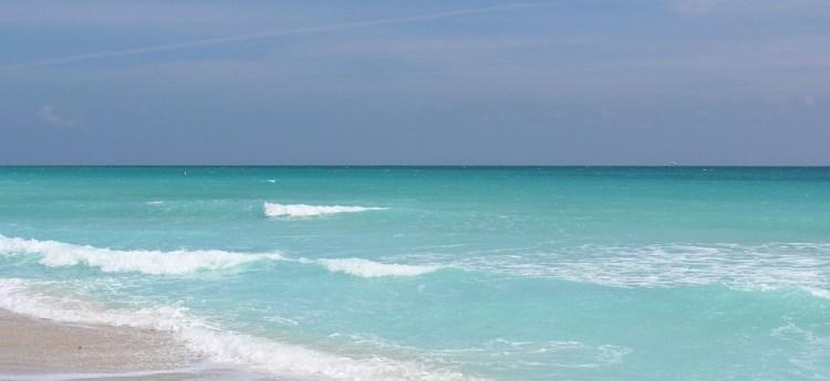 Beach, Miami, Florida, Sea, Color