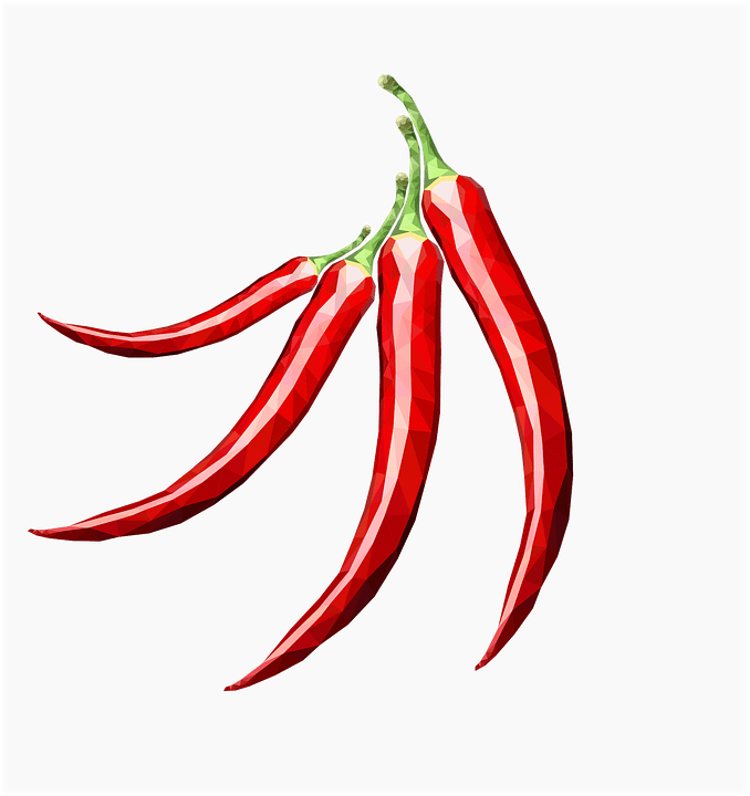 Red Pepper Spicy Spices Free Vector Graphic On Pixabay