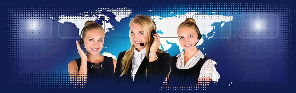 コールセンター, ヘッドセット, 女性, サービス, コンサルティング, 情報, トーク, 大陸