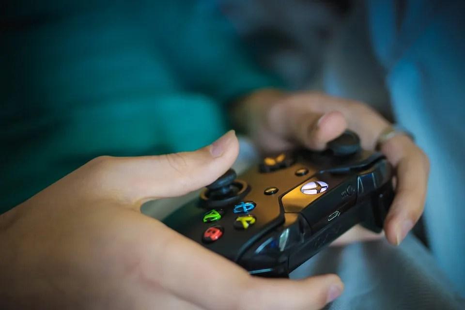 ゲーム, リモート, ゲーマー, ビデオ, エンターテイメント, 技術, コントロール, コントローラ
