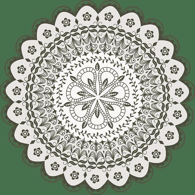 Vector Mandala Drawing  Free vector graphic on Pixabay