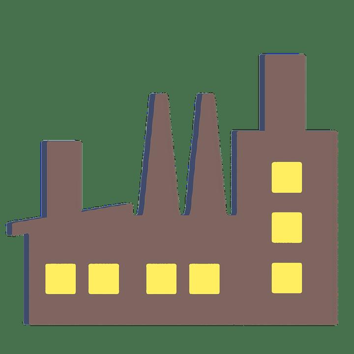 Pabrik Bangunan Vektor  Gambar gratis di Pixabay