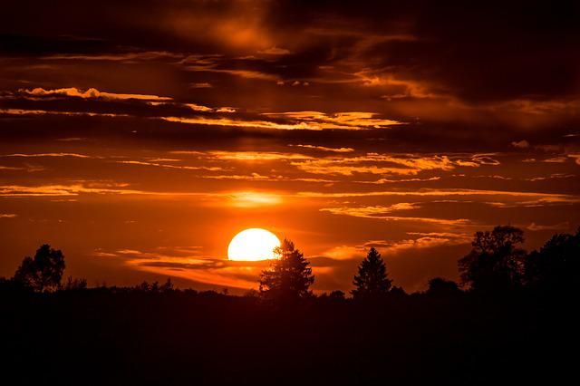Free Country Girl Wallpaper Free Downloads Sunset Setting Sun In The 183 Free Photo On Pixabay