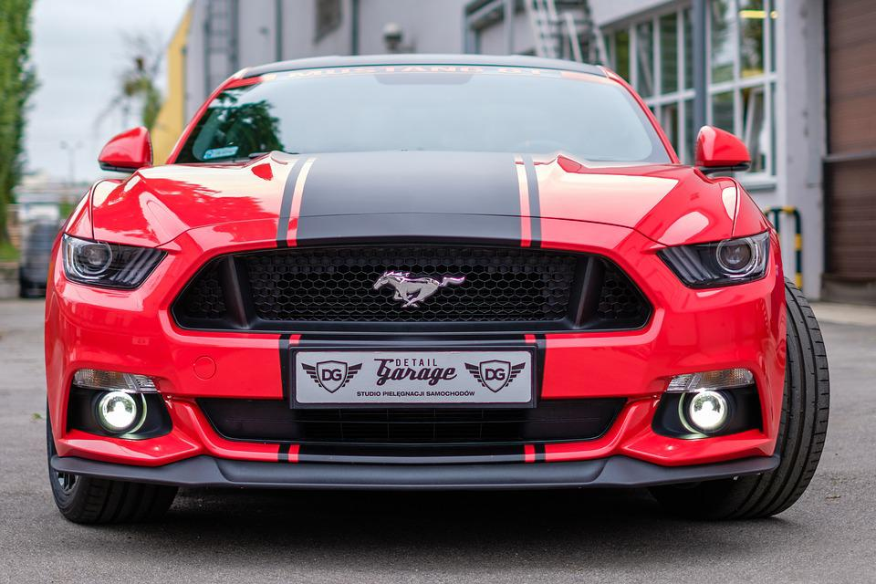 Mustang Gt Red 183 Free Photo On Pixabay