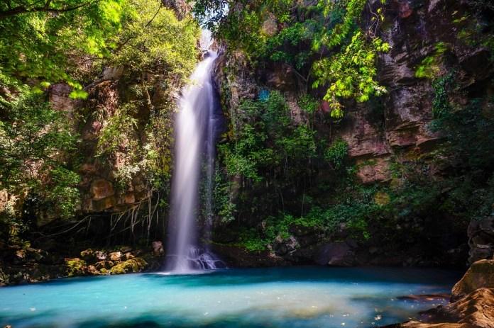 Caída De Agua, Agua Azul, Naturaleza, El Agua, Azul