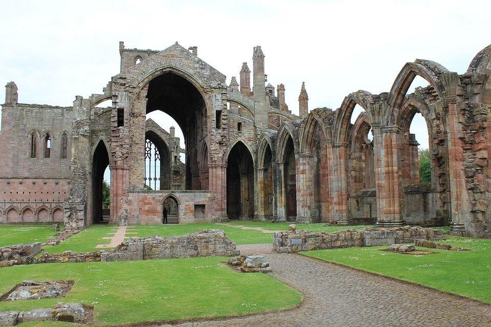 Abbey Road Wallpaper Hd Melrose Abbey Historical Scotland 183 Free Photo On Pixabay