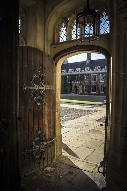 Door Open Courtyard  Free photo on Pixabay
