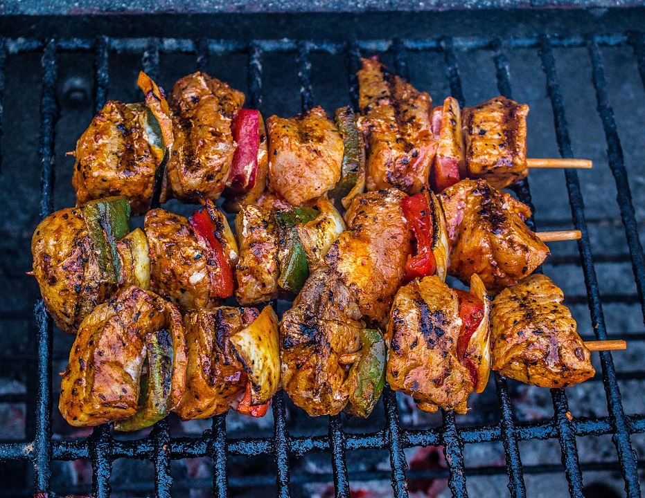 barbecue meat grill grilled