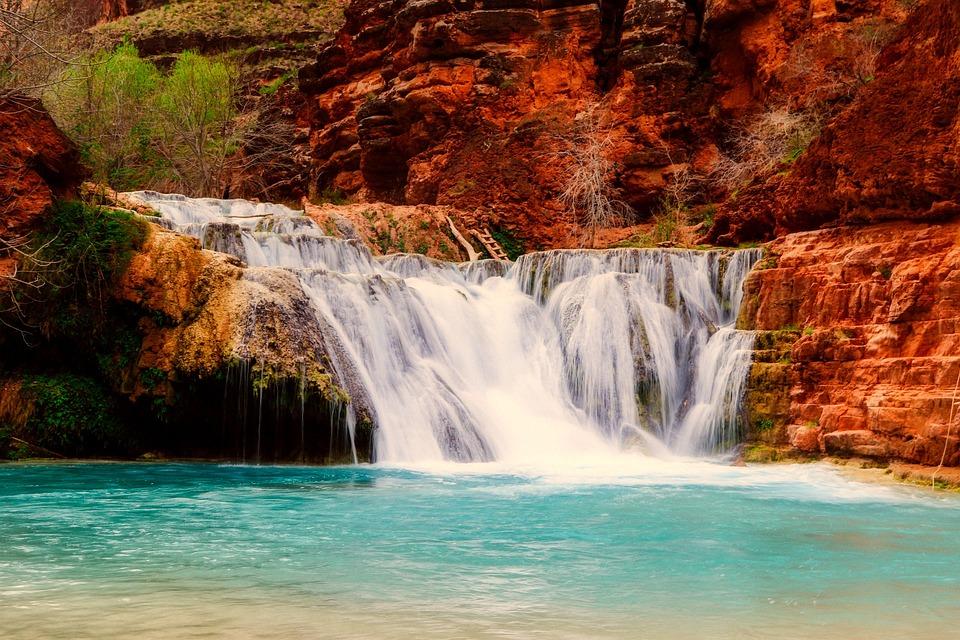 Bing Free Fall Wallpaper Arizona Landscape Waterfall 183 Free Photo On Pixabay