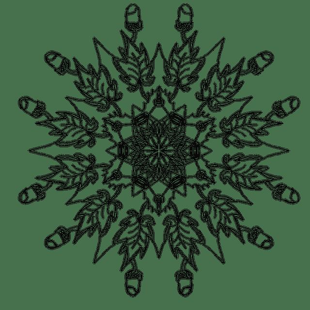Mandala Autumn Acorns Decorative · Free image on Pixabay