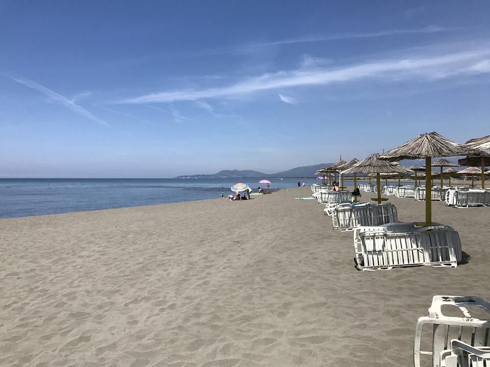 Beach, Montenegro, Ada Bojana