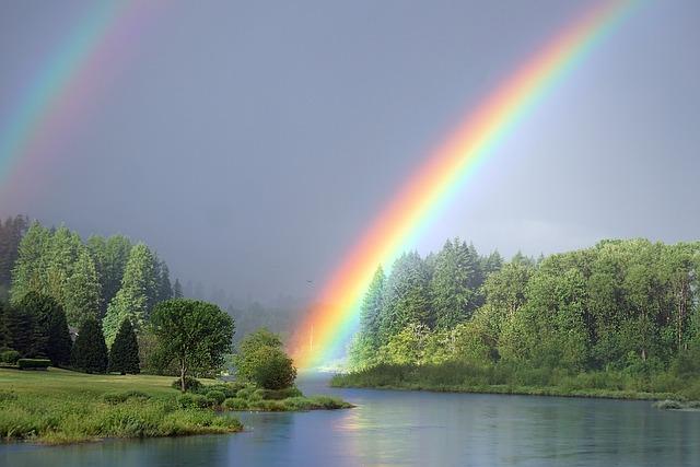 Fall Season Wallpaper Free Rainbow River Nature 183 Free Photo On Pixabay