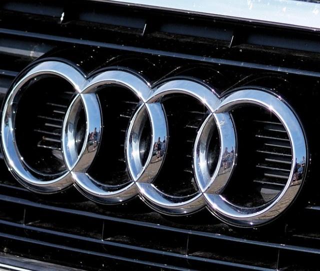 Audi Logo Auto Brand Characters Symbol Rings