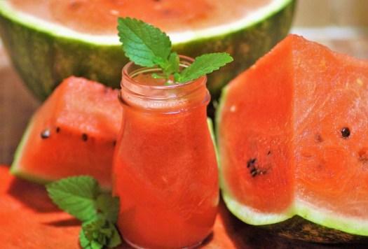 Melone, Succo Di Frutta Fresca, Succo Di Anguria, Rosso