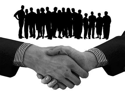 Staff, Team, Shaking Hands, Handshake