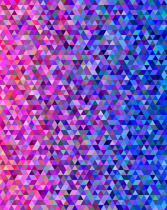 Triangle Tile Mosaic  Free image on Pixabay