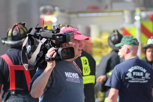 News, Camera, Media, Broadcast