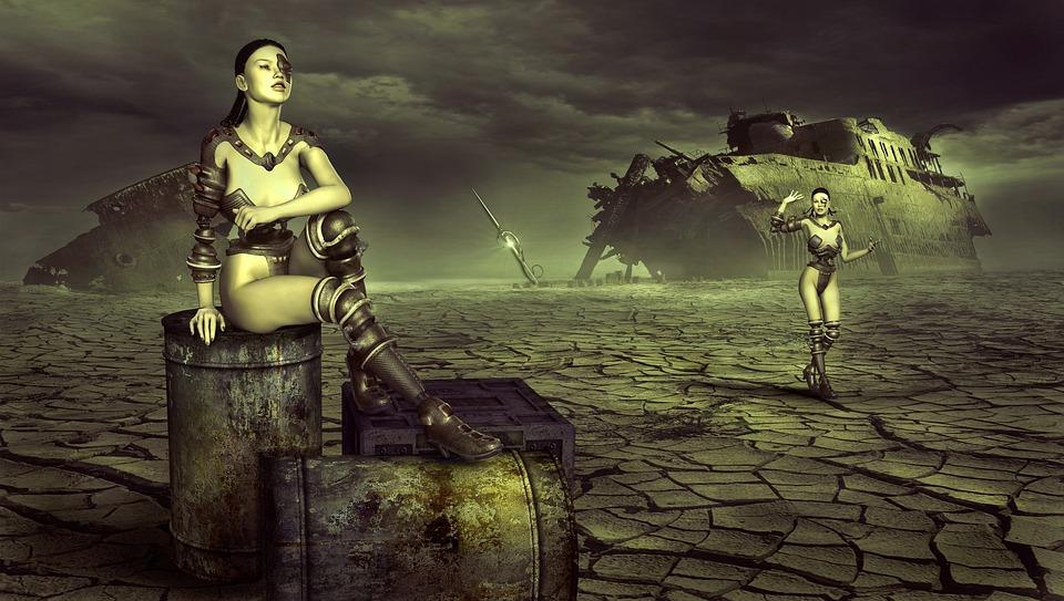 Robot Girl Wallpaper Fantasy Forward End Time 183 Free Photo On Pixabay