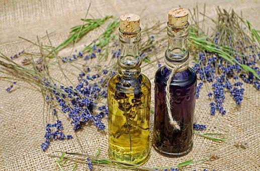 Bath Oil, Oil, Lavender, Fragrant Oil