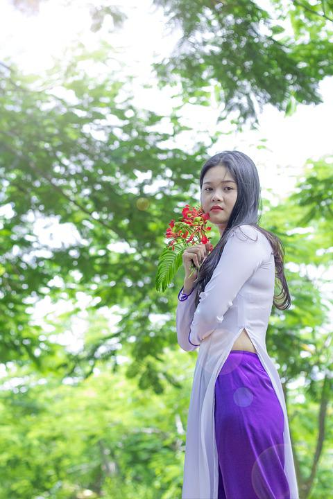 Hd Wallpaper Girl Image Download Vietnam Dress Ao Dai Girl 183 Free Photo On Pixabay