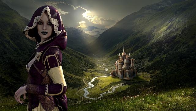 Fantasy Beautiful Girl Wallpaper Fantasy Landscape Mystical 183 Free Photo On Pixabay