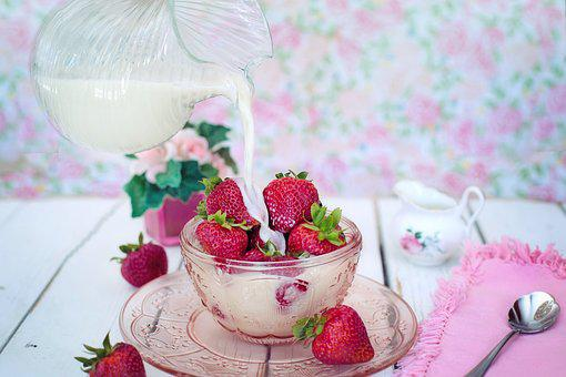 Dessert - Fraise - Gourmandise