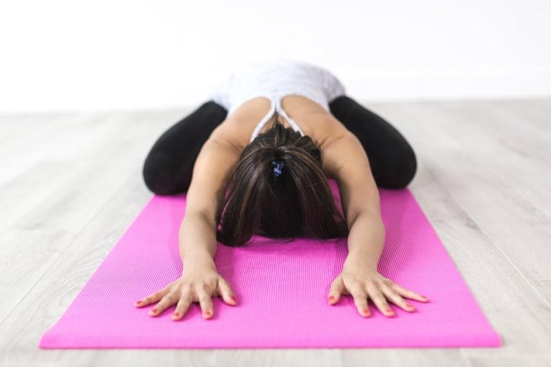Personas, Mujer, Yoga, Meditación, Gimnasio, Saludable