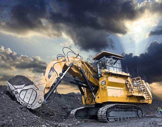 Jaguar 3d Wallpaper Large Hydraulic Excavator Cat 6030 183 Free Photo On Pixabay
