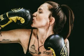 People, Girl, Boxing, Gloves, Fitness