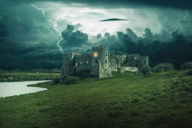 castle fantasy medieval dark gothic pixabay tower