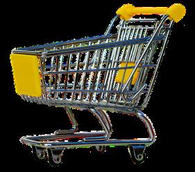 shopping cart pixabay