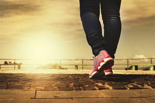 Walking, Path, Feet, Trail, Aventura