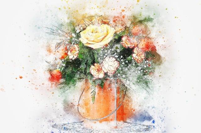 Flowers Bouquet Vase Free Image On Pixabay