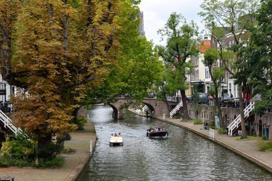 Utrecht, Holland, Gracht, Water, Boats