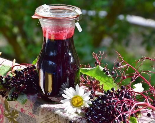 Maggiore, Bacche Di Sambuco, Frutti Di Bosco, Succo
