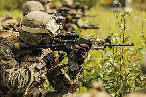 Marines, Usmc, Training, Exercise, Rifle