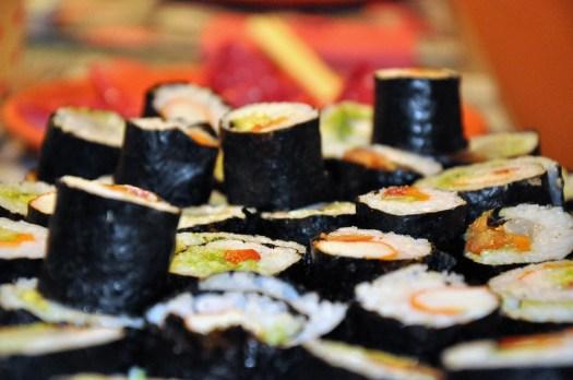Sushi, Mangiare, Asia, Riso, Delizioso, Pesce, Salmone
