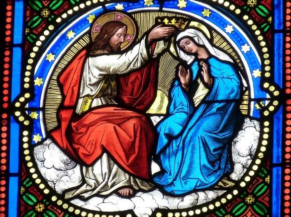 教会, ウィンドウ, 教会の窓, ステンド グラス, ステンドグラスの窓, マリア, イエス, キリスト