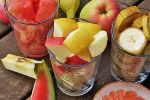 Frutta, Insalata Di Frutta, Apple, Taglio, Pompelmo