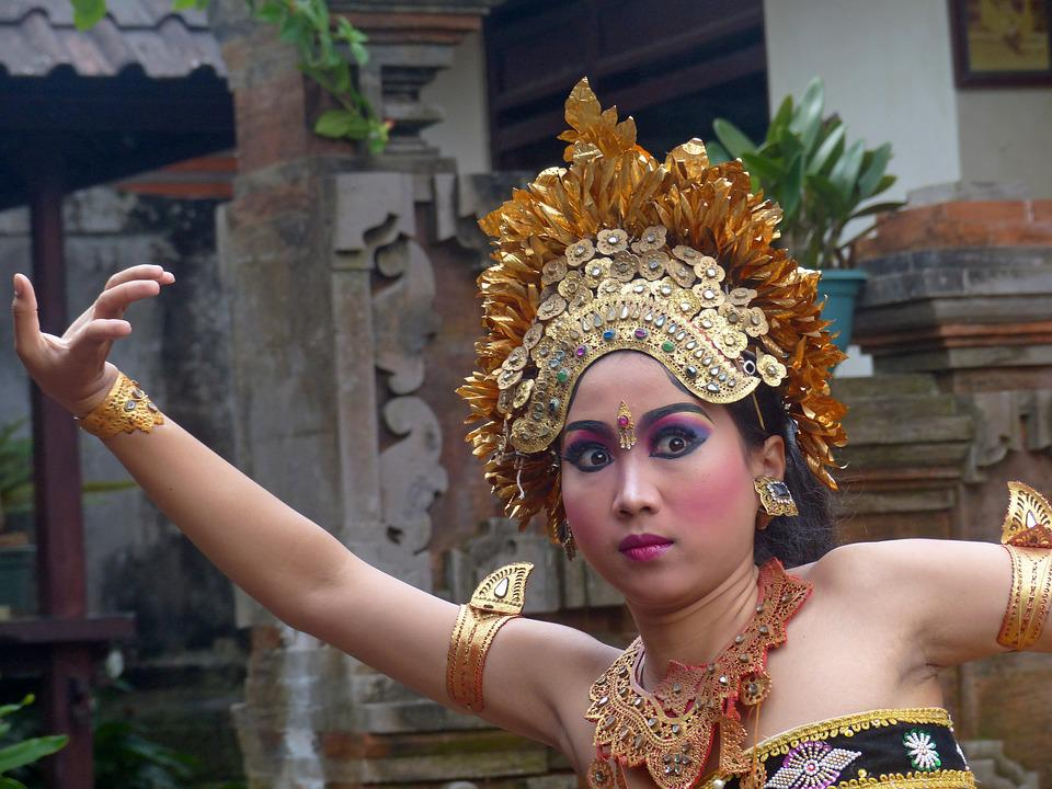 indonesia bali dancer free