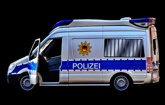 Polizeiauto, Polizei, Blaulicht