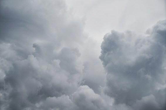 Cloud, Rain, White, Clouds, Nature, Landscape