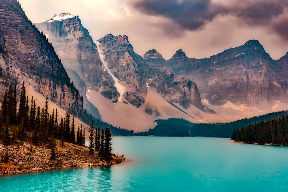 Travel Background Hd Wallpapers Free Niagra Falls Lake Moraine Canada Mountains 183 Free Photo On Pixabay